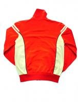 [USED] Sergio Tacchini Track Top size M (Red/cream